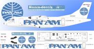 1/144 Scale Decal Pan Am Express ATR-42