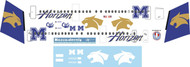 1/144 Scale Decal Horizon Dash 8-400 Montana University Cats