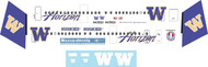 1/144 Scale Decal Horizon Dash 8-400 Washington University Huskies