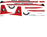 1/144 Scale Decal Invicta International Vanguard