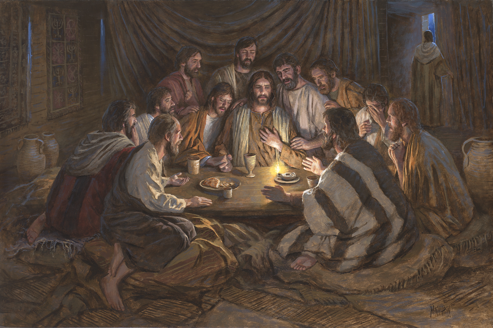 Religious Religious Last Supper Mcnaughton Fine Art