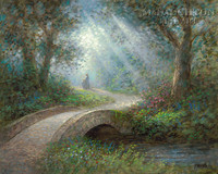 Path of Peace 20x24 LE Signed & Numbered - Giclee Canvas