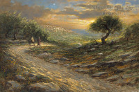 Road to Bethlehem 12x18 OE Signed by Artist - Giclee Canvas