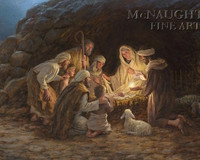 The Nativity 11x14 OE - Litho Print