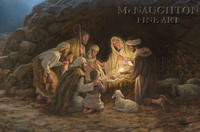 The Nativity 20x30 LE Signed & Numbered - Giclee Canvas