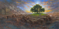 Tree of Life 20x40 LE Signed & Numbered - Giclee Canvas
