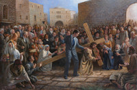Via Dolorosa 30x45 LE Signed & Numbered - Giclee Canvas
