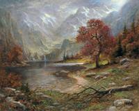 Autumn Heights 28 x 35  - Giclee Canvas