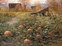 Harvest Memory 12 x 18 OE Signed by Artist - Giclee Canvas