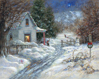 Gentle Memory - Christmas LE Signed & Numbered 24x30 - Giclee Canvas