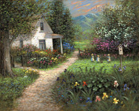 Gentle Memory - Easter LE Signed & Numbered 16x20  - Giclee Canvas