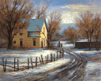 Winter Memory 20x24 LE Signed & Numbered - Giclee Canvas