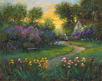 Garden Memory 24x30 LE Signed & Numbered - Giclee Canvas
