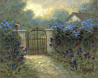Iris Gate 20x24 LE Signed & Numbered - Giclee Canvas