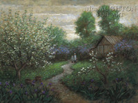 Spring Blossoms 12x18 OE Signed by Artist - Giclee Canvas