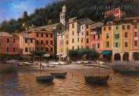 Portofino 11x14 LE Signed & Numbered - Giclee Canvas