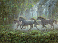 Runaways 18x24 LE Signed & Numbered - Giclee Canvas