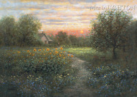 Evening Stillness 20x30 LE Signed & Numbered - Giclee Canvas