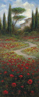 Bella Tuscany 1 10x20 OE Signed by Artist - Giclee Canvas