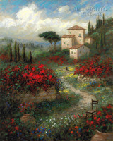 Colors of Tuscany 11x14 LE Signed & Numbered - Giclee Canvas
