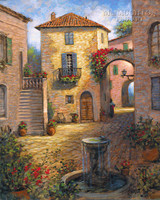 Tuscan Beauty 20x24 LE Signed & Numbered - Giclee Canvas