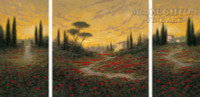 Tuscan Mood 30x30 LE Signed & Numbered - Giclee Canvas