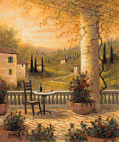 Tuscan View for One 12x16 LE Signed & Numbered - Giclee Canvas