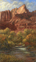Doorway to Zion 18x22 LE Signed & Numbered - Litho Print