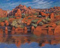 Entrada 28x35 - Giclee Canvas
