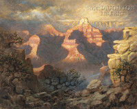 Grand Canyon Majesty 20x24 LE Signed & Numbered - Giclee Canvas