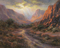 Paradise Canyon 11x14 LE Signed & Numbered - Giclee Canvas