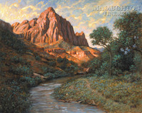 The Watchman 20x24 LE Signed & Numbered - Giclee Canvas