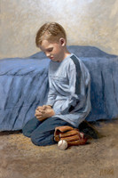 Did You Think to Pray 10x15 - Giclee Canvas
