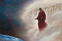 Parting the Veil (The Second Coming) 48 X 72