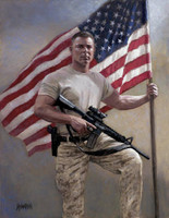 Stand Your Ground 16X20 LE Signed & Numbered - Giclee Canvas