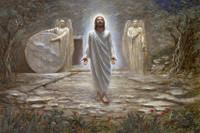 He Is Risen 12X18 Giclee OE