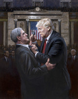 Expose the Truth - 16X20 Canvas Giclee, Limited Edition, S/N Edition 200
