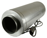 Isomax 200mm 3 Speed Acoustic Inline Tube Fan (900 M3/hr)