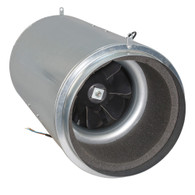 Isomax 250mm Acoustic Inline Tube Fan (2400 M3/hr)