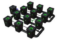 Alien Hydroponics 12 Pot  RDWC Pro 55 litre 75cm centres