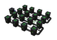 Alien Hydroponics 16 Pot  RDWC Pro 55 litre 75cm centres