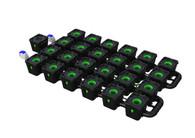 Alien Hydroponics 32 Pot  RDWC Pro 34 litre 50cm centres