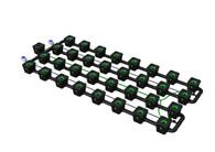 Alien Hydroponics 32 Pot  RDWC Pro 34 litre 75cm centres
