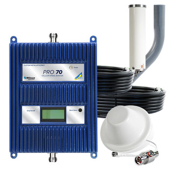 WilsonPro 465134 Pro 70 Cell Phone Signal Booster System with 1 Dome Antenna: Kit