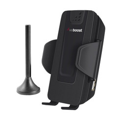 weBoost 470107 Drive 4G-S Sleek Cell Phone Signal Booster for Vehicles: Cradle Booster with Antenna