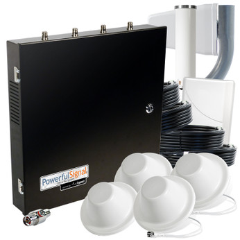 Wilson 471104 weBoost Small Office PRO 70 dB 4-Antenna System: Kit
