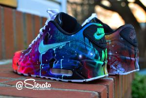"Custom Nike ""GalactiMAX"" 90s"