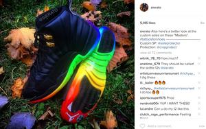 """Gamma Jordan 12 """"Rainbow Soles"""""""