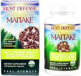 Host Defense Maitake 120 Veggie Caps Fungi Perfecti