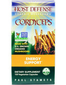 Host Defense Cordyceps 120 Veggie Caps Fungi Perfecti, Energy, UK Supplements
